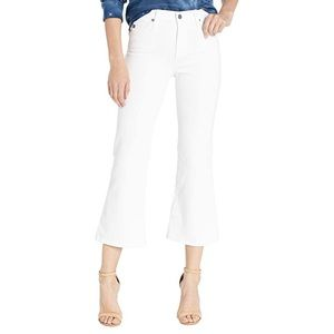 AG Adriano Goldschmied quinne Crop flare jeans